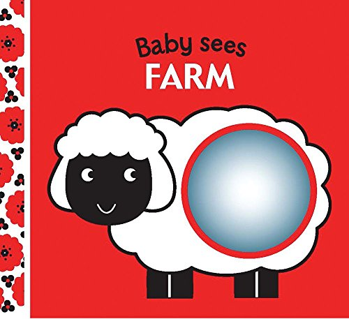 Waving Pig - Farm: A soft book and mirror for baby! (Baby Sees Cloth Books)