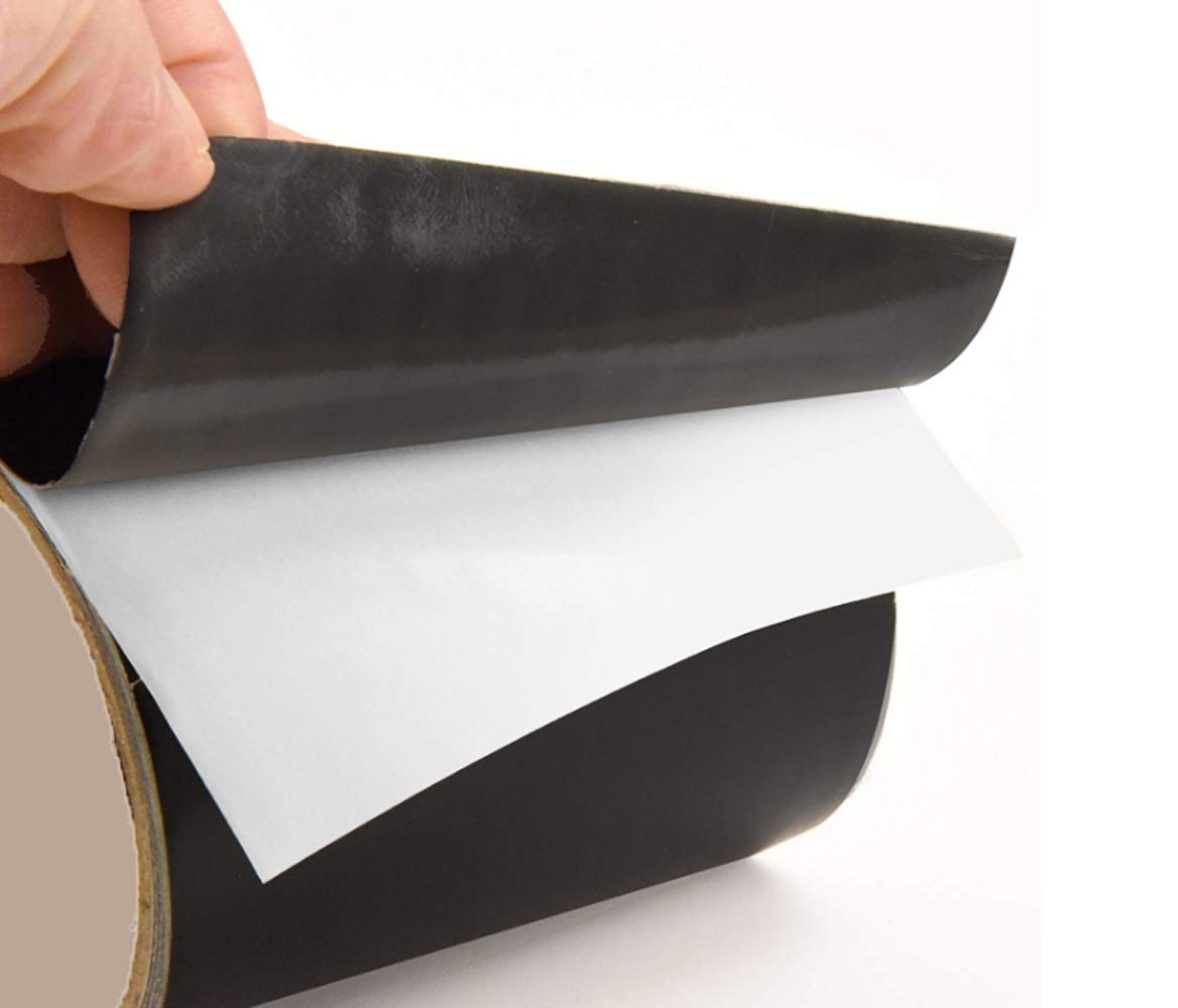 Patch Holes /& Cracks All Weather Patch Tape Stretchy Sealing Tape for Roofing Imperius Patch and Shield Power Tape Black Waterproof Tape for Pipes Butyl Tape 7 inch x 5 feet-Black