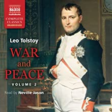 War and Peace, Volume 2  Audiobook by Leo Tolstoy Narrated by Neville Jason