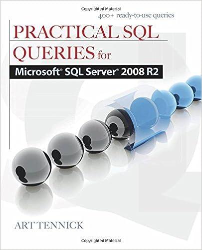 Practical SQL Queries for Microsoft SQL Server 2008 R2: Art