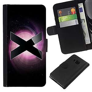 All Phone Most Case / Oferta Especial Cáscara Funda de cuero Monedero Cubierta de proteccion Caso / Wallet Case for HTC One M7 // X