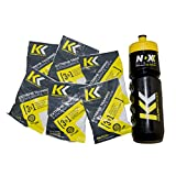 Pre Workout Kramp Krusher, Energy Gummies, (Pack of 12) Training and endurance enhancer, with Electrolytes, Calcium Lactate for optimal performance while training (Lemon, 6 pack)