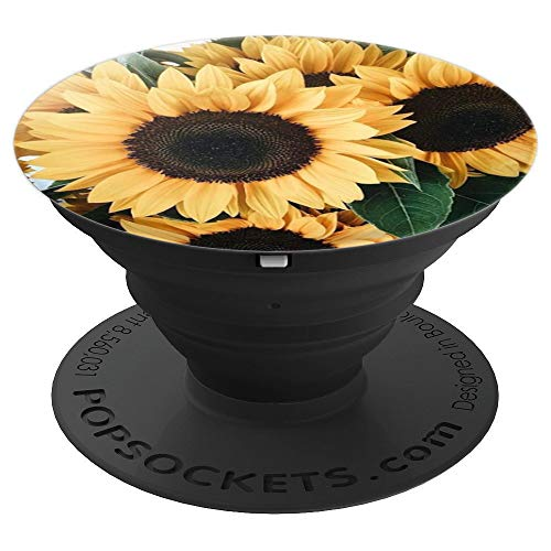 (Sunflower - PopSockets Grip and Stand for Phones and Tablets)
