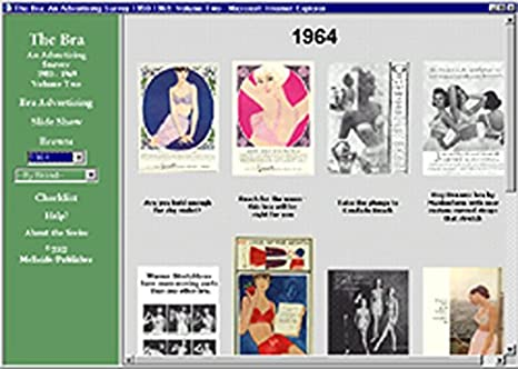 Amazon.com: The Bra ad CD-ROM Volume Two 100 different ads 1950s & 1960s: Entertainment Collectibles
