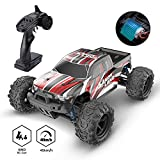 DEERC RC Car High Speed Remote Control Car for Kids Adults 1:18 Scale 30+ MPH 4WD Off Road Monster Trucks,2.4GHz All Terrain Toy Trucks with Rechargeable Battery,20+ Min Play Gifts for Boys