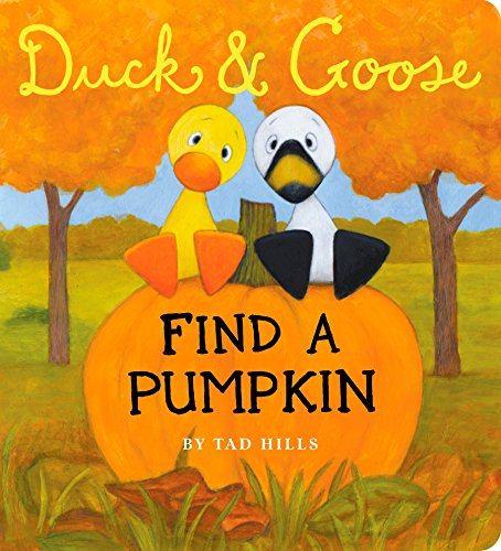 Duck & Goose, Find a Pumpkin (Oversized Board Book) -