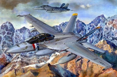 Trumpeter 1/32 F/A18F Super Hornet Fighter Model Kit Super Hornet Model Kit
