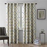 "Ink+Ivy Ankara Window Curtain - Yellow - 84"" Panel"