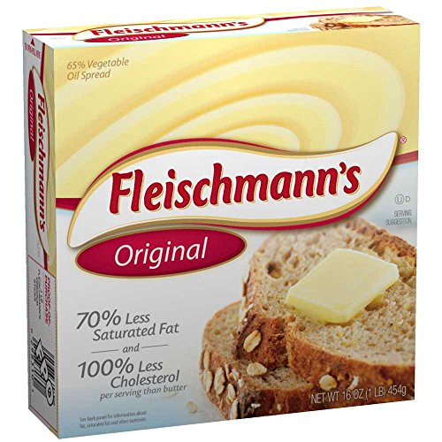 Fleischmann Solid Margarine Stick, 1 Pound -- 18 per case. - Fleischmanns Margarine
