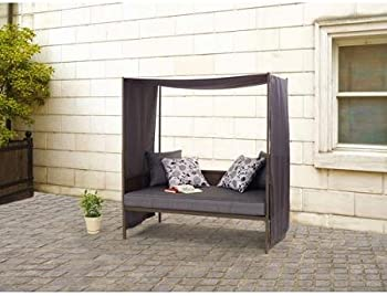 Mainstays Square Steel Cushion Day Lounger