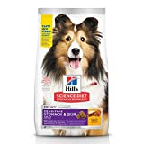 Hill's Science Diet Adult Sensitive Stomach & Skin Chicken Recipe Dry Dog Food, 30 lb Bag