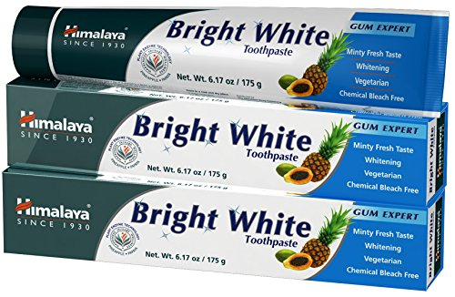 - Himalaya Bright White Toothpaste 175g (2 Pack)