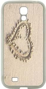 Blueberry Design Galaxy S4 Case white romantic heart - Ideal Gift by icecream design