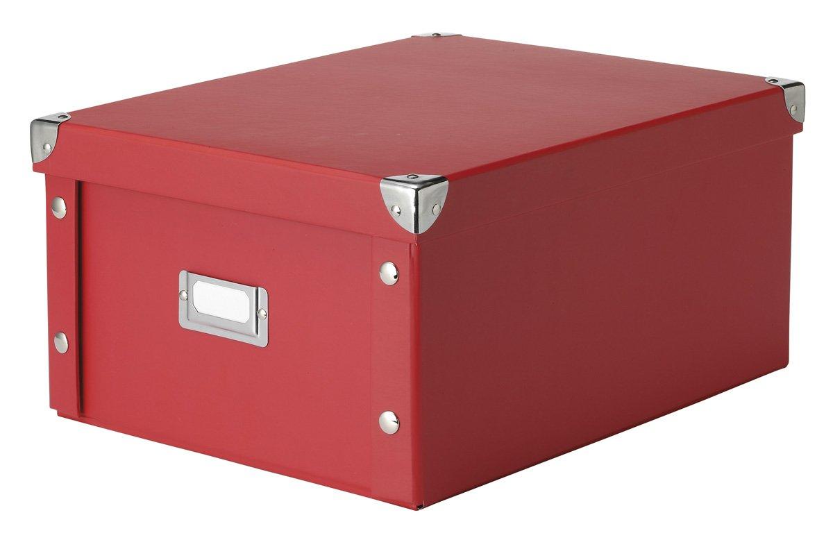 4 Aufbewahrungsbox Stoffbox Sortierbox Einschubbox Box faltbar Marine Blau 31 cm