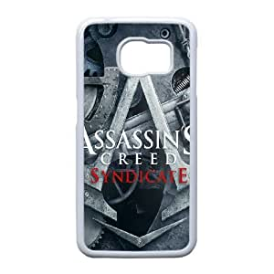 Samsung Galaxy S6 Edge Phone Case White Assassin's Creed Syndicate ZEC886044