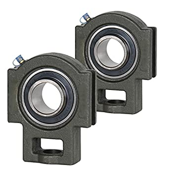 2x 1 in Take Up Units Cast Iron UCT205-16 Mounted Bearing UC205-16+T205 New