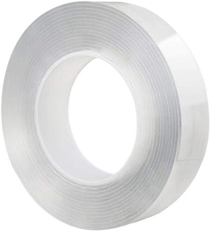 Transparentes doppelseitiges Acrylklebeband No Trace Wiederverwendbares wasserdi
