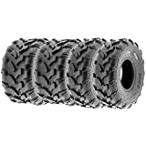 SunF Quad ATV Sport Tires 19x7-8 & 19x9.5-8 4 PR A003 (Full set of 4)