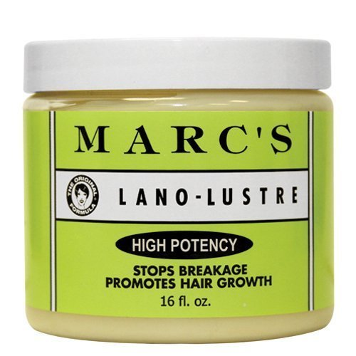 Marc's Lano-Lustre High Potency, Stops Breakage Promotes Hair Growth 16oz by Marc's