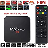 CLOVER SURGE NEW MXQ PRO Smart Android TV Box Amlogic S905X Android 6 Marshmallow OS TV Box Mini PC Quad Core 1G/8G 4K Google Streaming Media