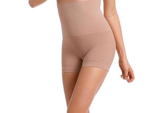 ??Envie® Damen-Panty figurformend und hochtailliert für flache Beine und Po.??