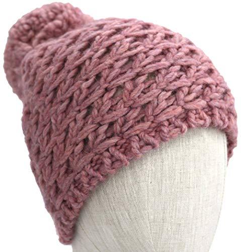 UGG Women's Yarn Pom Knit Hat Pink One Size]()