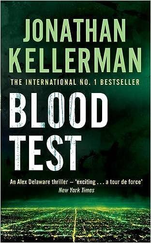Book Blood Test (Alex Delaware)