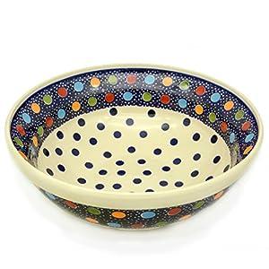 Bunzlauer Salad Bowl 24 cm Dekor Konfetti