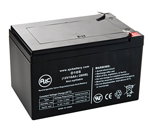 PowerVar ABCE1100-11IEC 12V 10Ah UPS Battery - This is an AJC Brand Replacement by AJC Battery
