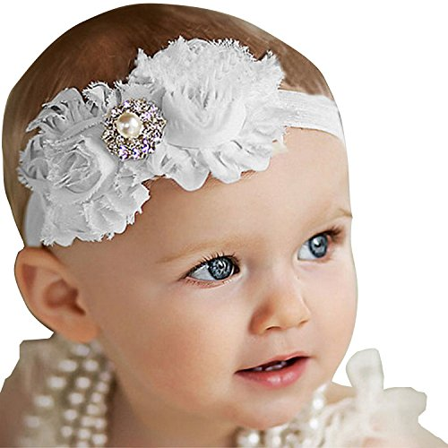 Bloomingjoy Baby Elastic Headband Flower