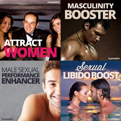 Sexual Hypnosis for Men Bundle: Become a Sizzling Sex God, with Hypnosis