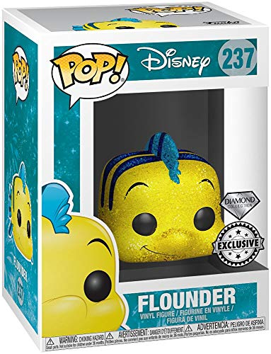 Funko Disney Pop! Disney platija de The Little Mermaid, Tema Caliente Exclusive Diamond Edicion Limitada No 237