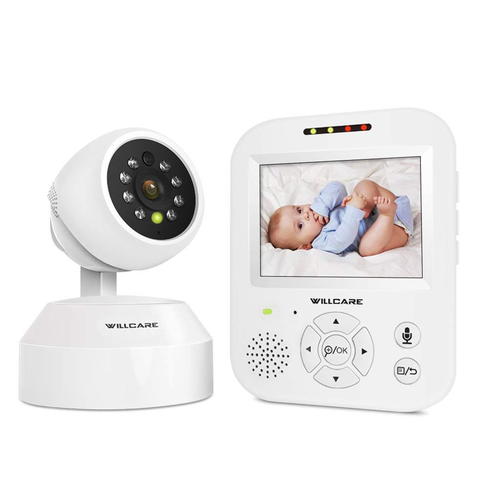Willcare Video Baby Monitor Camera HD Night Vision Two-Way Talk Remote Pan Tilt Camera 3.5inch HD IPS Screen. … DBM-35-CA