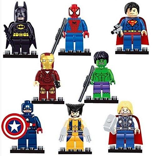 [해외]슈퍼 미니 피겨 8 체 세트 [병행 수입품] / Super Heroes Mini Figure 8 Body set [parallel import products]