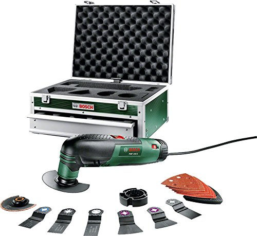 Bosch PMF 190 E Multifunction Tool with Toolbox and Accessories