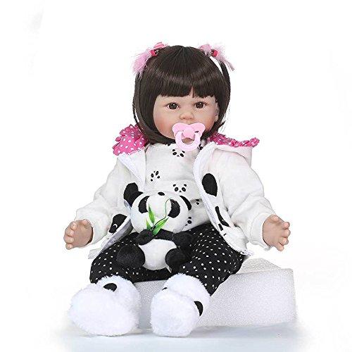 comprar marca Nicery Reborn Baby Baby Baby Doll Muñeca Renacida Vinilo de Silicona de Simulación Suave 24 Pulgadas 60cm Magnetic Boca Realista Vivo Niño Niña Juguete vívido para 3 años + Gato blancoo RD60C002W  Ahorre hasta un 70% de descuento.
