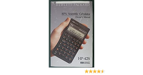 Hp42s manual array hp 42s owner u0027s manual edition 7 amazon com books rh amazon fandeluxe Image collections