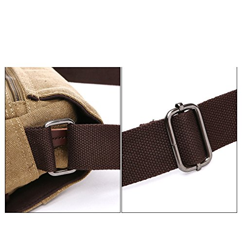 Yxlong Star Of Portable Men's Bag Messenger Casual Tide Canvas Shoulder Outdoor Militarygreensmall The One Package Computer Version Korean 676xp