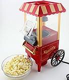MK Mini Countertop Retro Pop Corn Popper Hot Air Popcorn Maker Machine