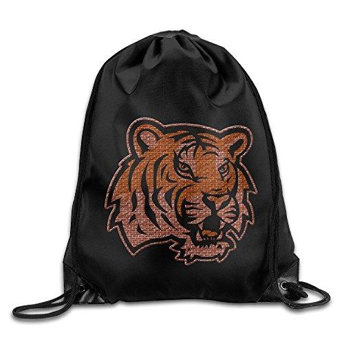 Acosoy LSU Louisiana State University Tigers Drawstring Backpacks/Bags
