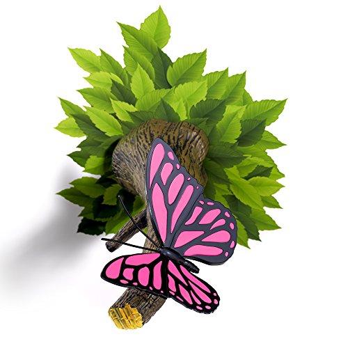 3DLightFX Nature Pink Butterfly 3D Deco Light