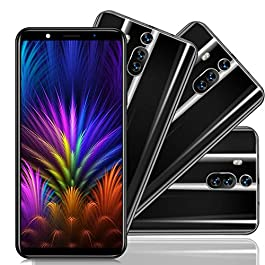 Xgody 6 Inch Android 8.1 Cellphone Unlocked Dual Camera HD (18:9) Screen Unlocked Smartphone 8GB Celulares Desbloqueados 2G/3G Network for T-Mobile/AT&T/MetroPCS (Black)