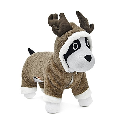 PAWZ Road Pet Dog Christmas Costume Elk Clothes for Dogs and Cats S
