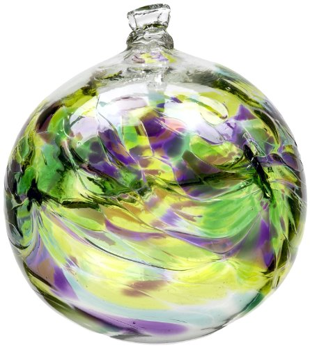 Decorative Glass Balls (Kitras 6-Inch Birthday Ball, May)
