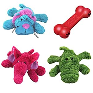 Amazon.com : Kong Cozie Squeaky Dog Toys Variety Pack