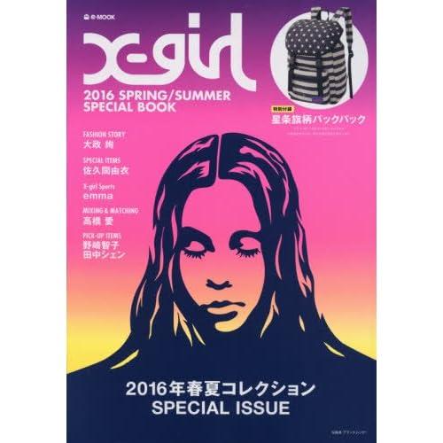 X-girl 2016年春夏号 画像 A