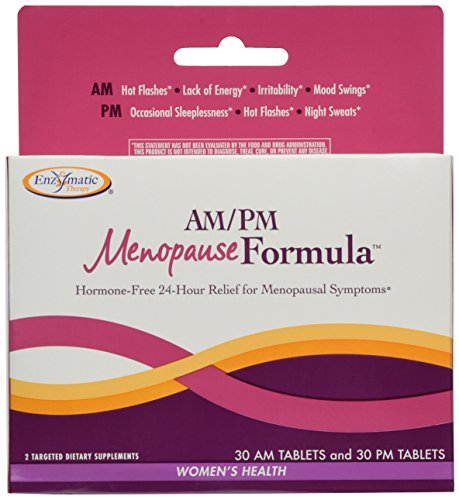 Enzymatic Therapy AM/PM Menopause FormulaTM 60 Tablets (2-Pack)