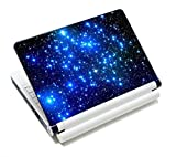 New Arrival Many Blue Stars Design Decal Sticker Skin Cover For 13' 14'15.4' 15.6'inch Laptop,Computer,Notebook FP-NEK-007
