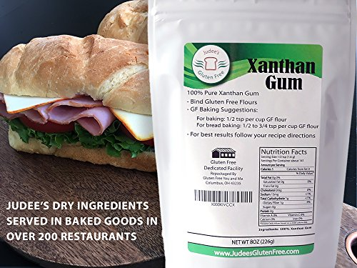 Judee's Xanthan Gum Gluten Free(15 oz) - USA Packaged & Filled - Dedicated Gluten & Nut Free Facility - Perfect for Low Carb Keto Cooking & Thickening Sauces, Gravies, and Smoothies. Non-GMO by Judee's Gluten Free (Image #8)