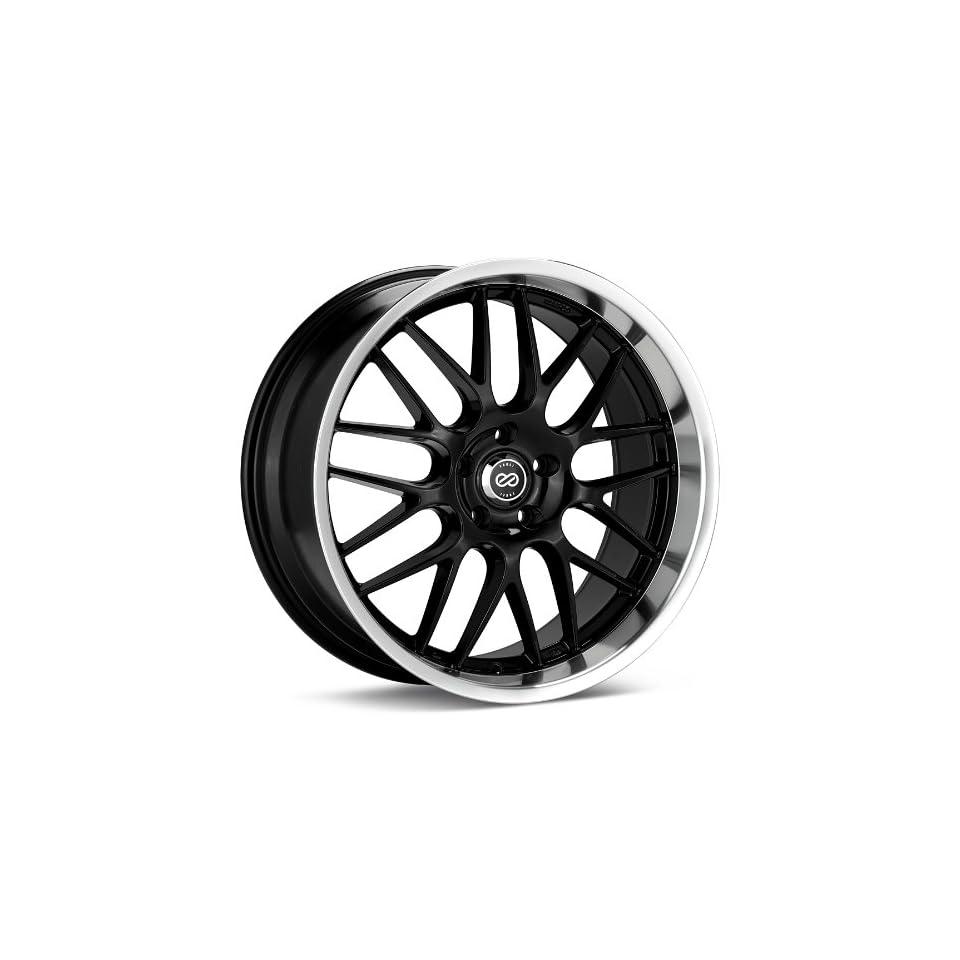18x7.5 Enkei Lusso (Black) Wheels/Rims 5x110 (469 875 5142BK)